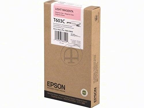 Epson Tintenpatrone light magenta, T563600, HC