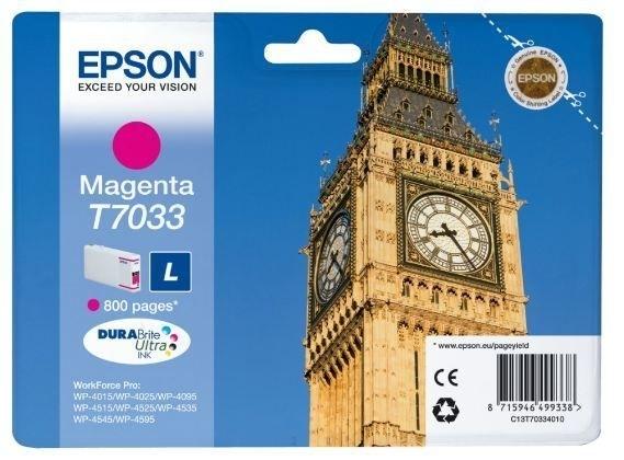Epson Tintenpatrone magenta , T70334010