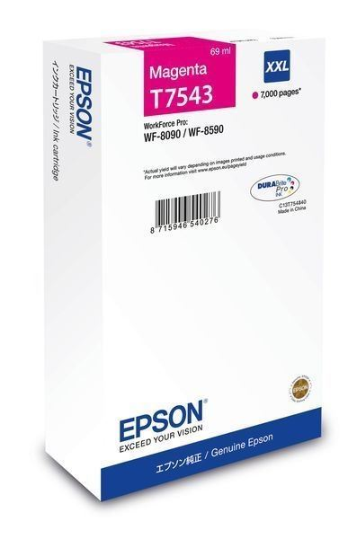 Epson Tintenpatrone magenta XXL -  C13T754340