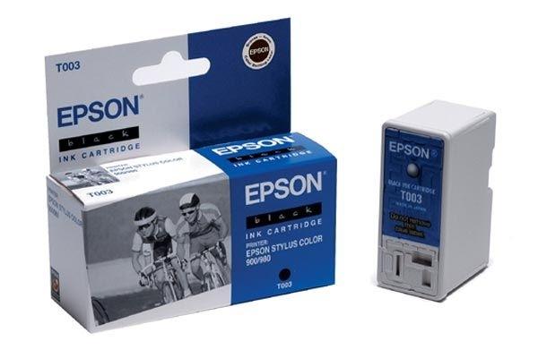 EPSON Tintenpatrone schwarz - T003011