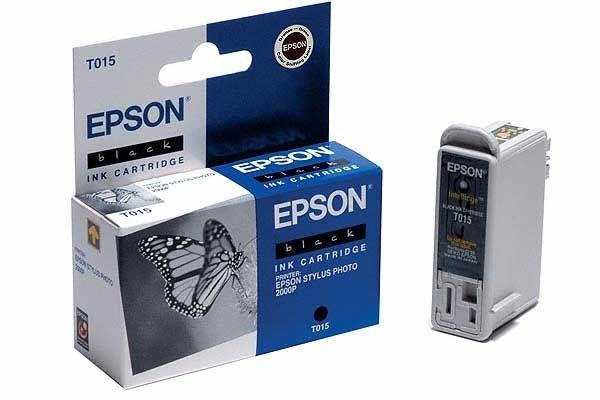 EPSON Tintenpatrone schwarz - T015401-