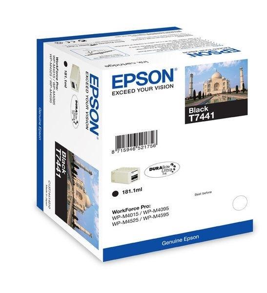 Epson Tintenpatrone schwarz 10K T7441