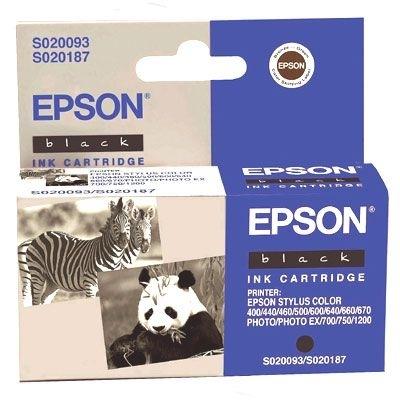EPSON Tintenpatrone schwarz für -T050140 -