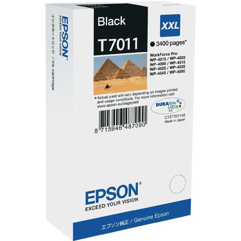 EPSON Tintenpatrone XXL Black 3.4k