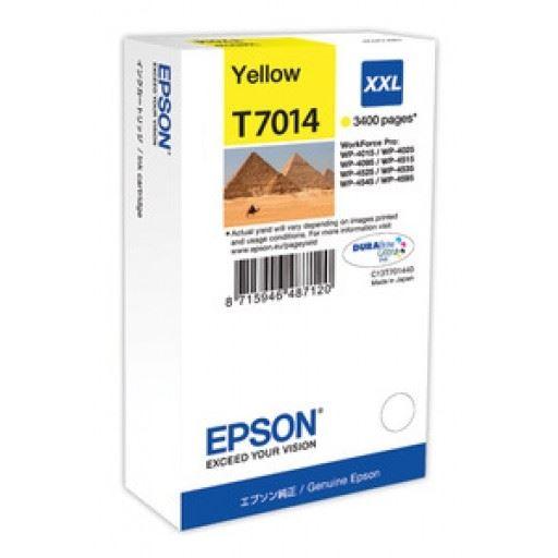 EPSON Tintenpatrone XXL Yellow 3.4k