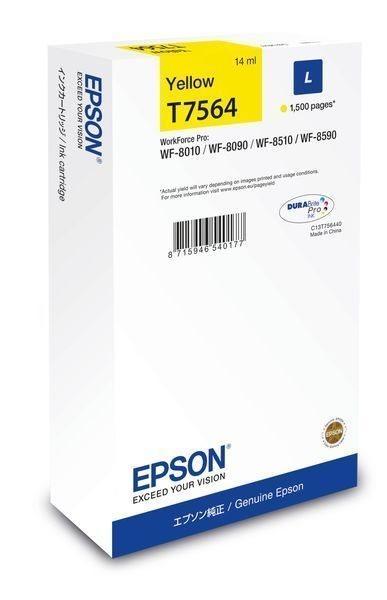 Epson Tintenpatrone yellow L -  C13T756440