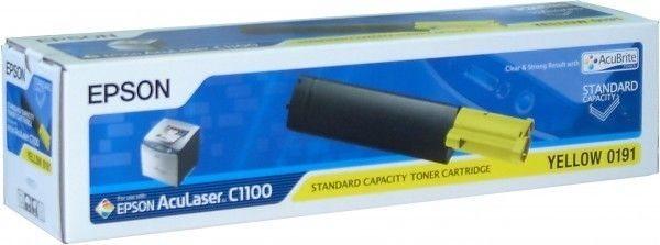 Epson Toner gelb für C1100, C13S050191