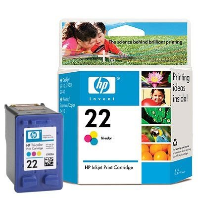 HP 22 original Tinte cyan, magenta, gelb - C9352AE