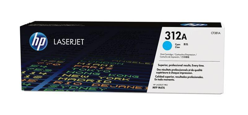 HP 312A original Toner cyan - CF381A
