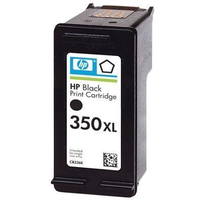 HP 350XL original HC Tinte schwarz - CB336EE