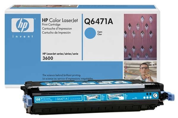 HP 502A original Toner cyan - Q6471A