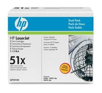 HP 51X original HC Toner schwarz - Q7551XD