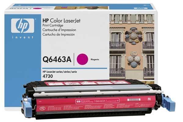 HP 644A original Toner magenta - Q6463A