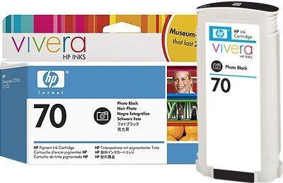 HP 70 original Tinte schwarz - C9449A
