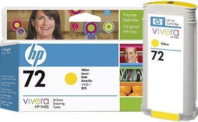 HP 72 original Tinte gelb - C9373A