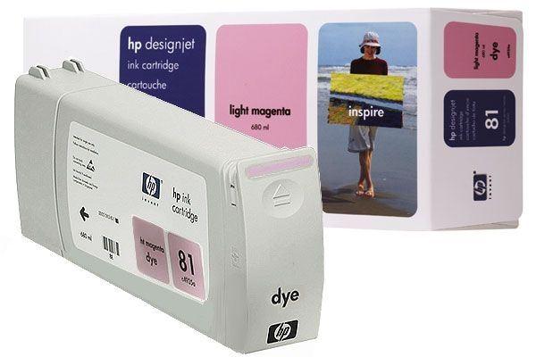 HP 81 original Tinte magenta - C4935A