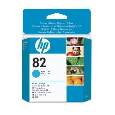 HP 82 original Tinte cyan - CH566A