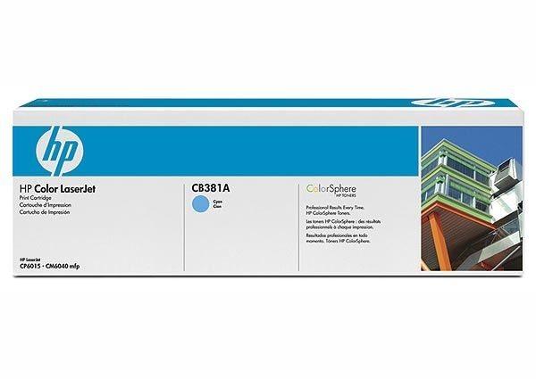 HP 824A original Toner cyan - CB381A