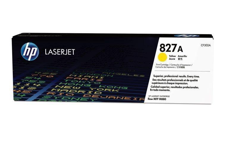 HP 827A original Toner gelb - CF302A