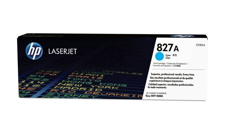 HP 827A Toner-Druckkassette Cyan