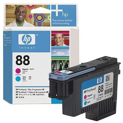 HP 88 magenta und cyan Original Druckkopf - C9382A