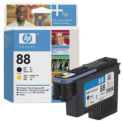 HP 88 schwarz und gelb Original Druckkopf - C9381A