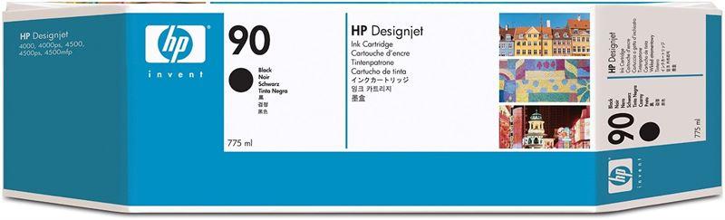 HP 90 original 3er-Pack Tinte schwarz - C5095A