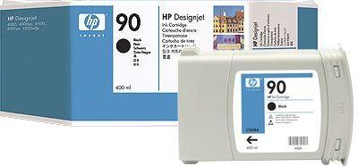 HP 90 original Tinte schwarz - C5058A