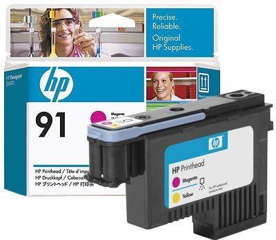 HP 91 magenta und gelb Druckkopf - C9461A