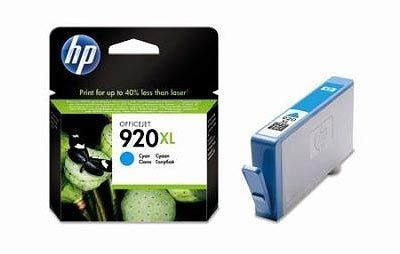 HP 920XL original HC Tinte cyan - CD972AE