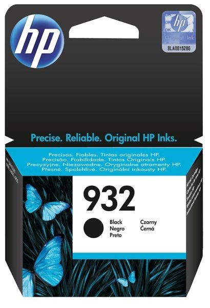 HP 932 original Tinte schwarz - CN057AE