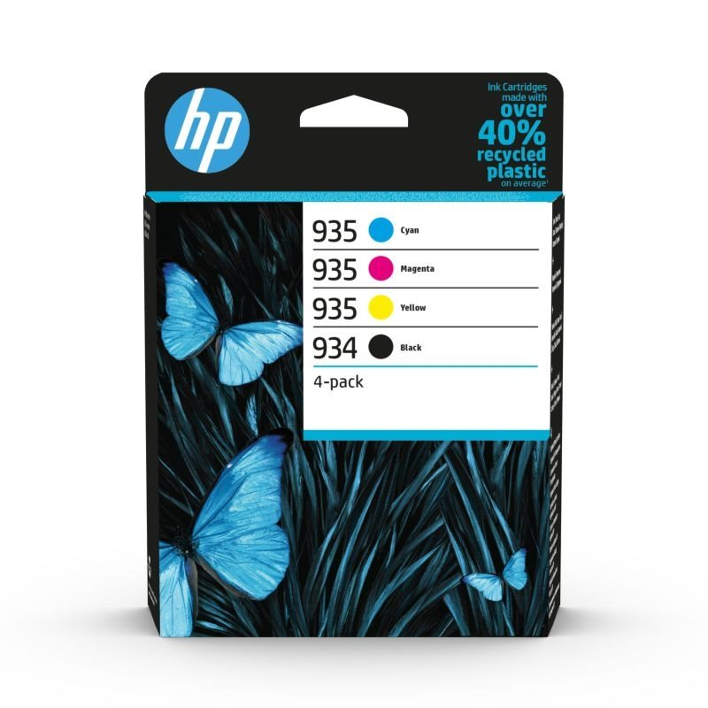 HP 934/935 Original Tinten Multipack BKCMY - 6ZC72AE