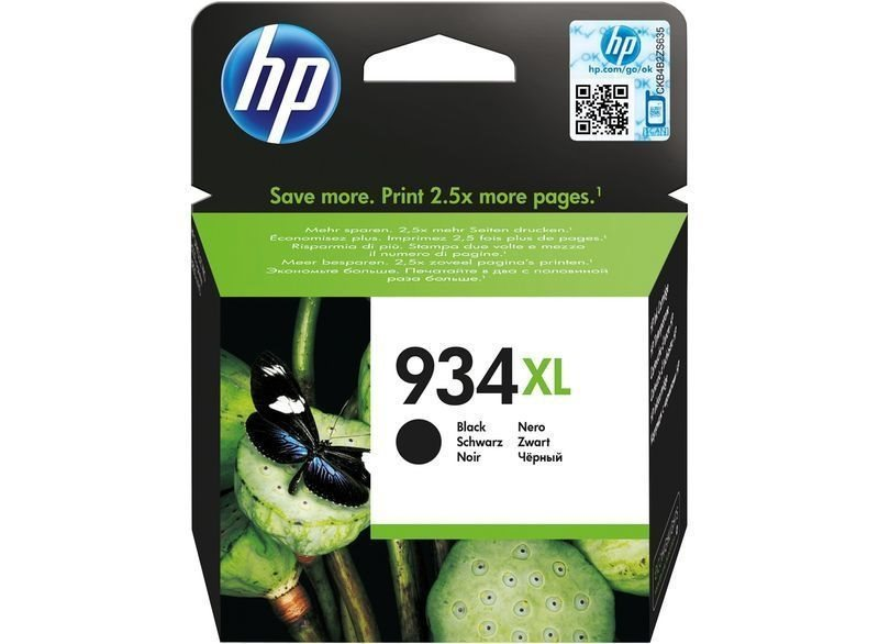 HP 934XL original HC Tinte schwarz - C2P23AE