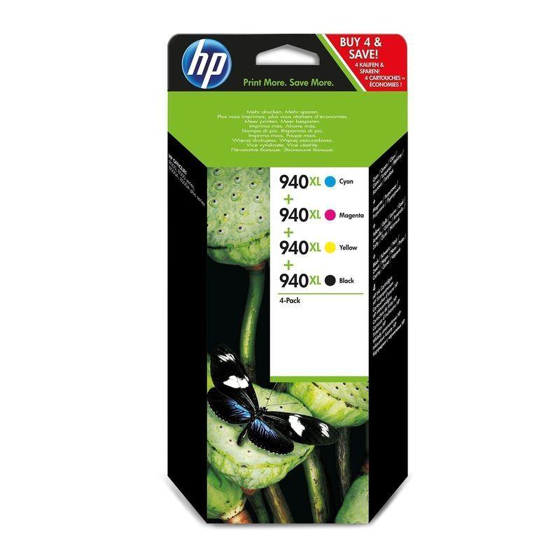 HP 940XL original HC Tinte multi-bkcmy - C2N93AE