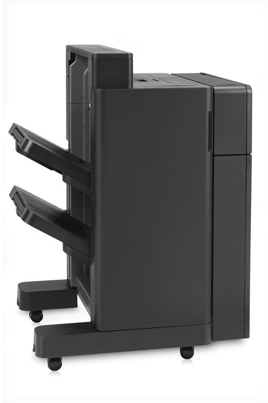 HP Ausgabefach mit Hefter und 2/4 Locher
