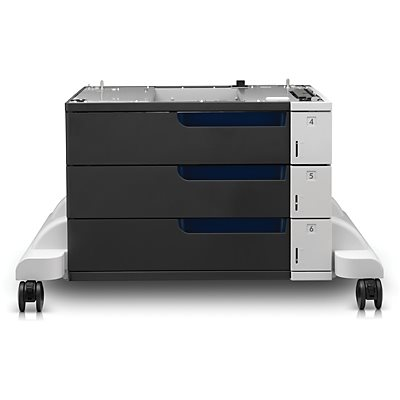 HP Laser Jet 3x500 Feeder Stand