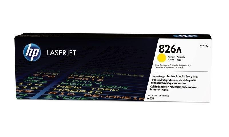 HP LaserJet M855 Tonerkartusche Gelb