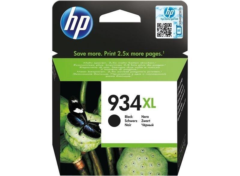 HP Original - 934XL HC Tinte schwarz