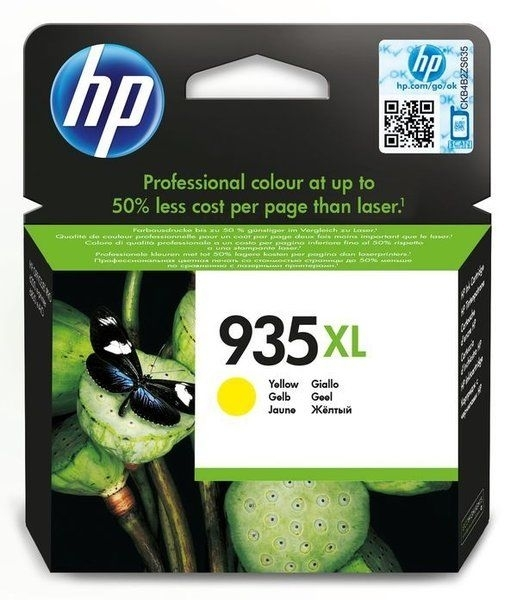HP Original - 935XL HC Tinte gelb