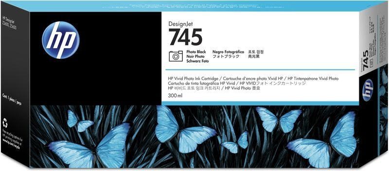HP Original - HC Tinte photoschwarz -  F9K04A