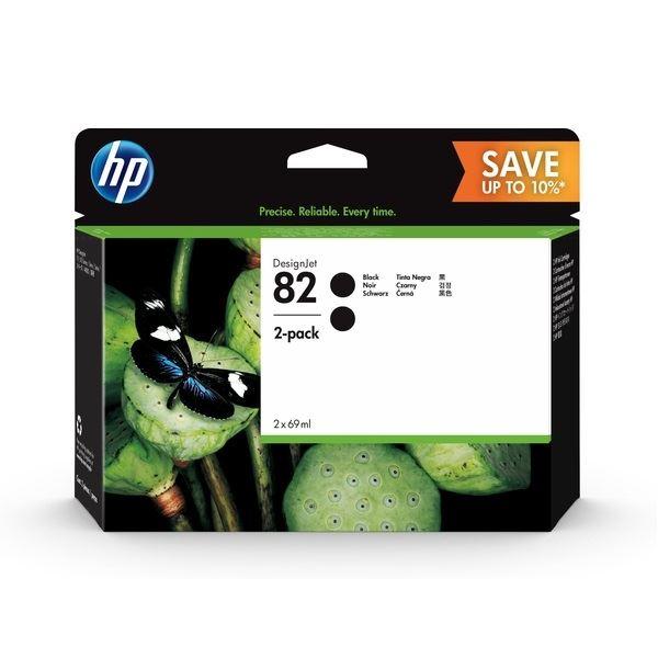 HP Original Tinte schwarz 2er Pack - P2V34A