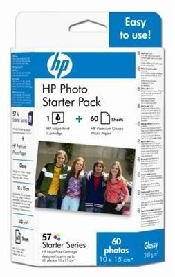 HP Patrone Nr. 57 CMY inkl. Fotopapier, Q7942AE