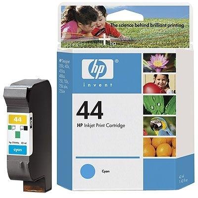 HP Tintenpatrone Nr. 44 cyan - 51644C