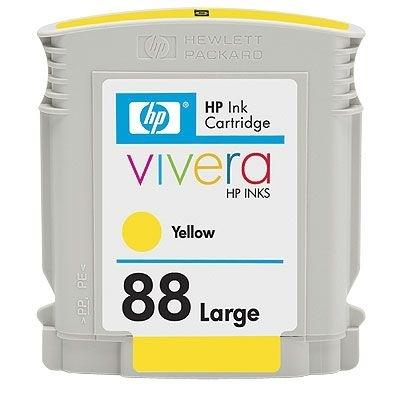HP Tintenpatrone Nr. 88 gelb, C9393A, HC