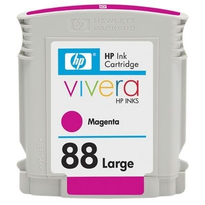 HP Tintenpatrone Nr. 88 magenta, C9392A, HC