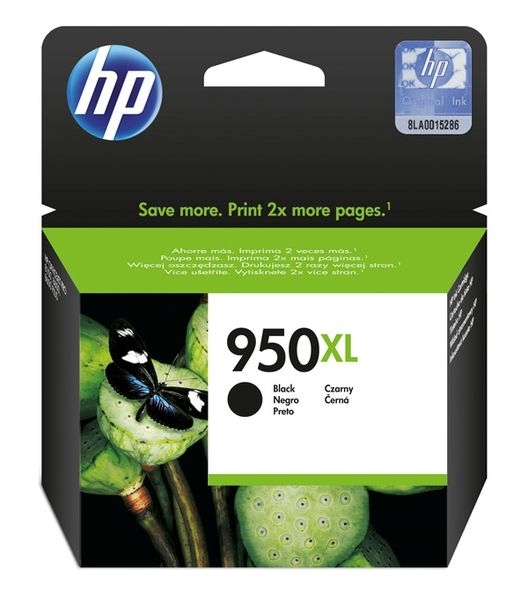 HP Tintenpatrone Nr. 950 XL schwarz , CN045AE