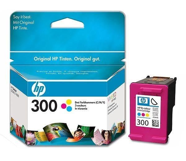 HP Tintenpatrone Nr. 300 - CC643EE - dreifarbig