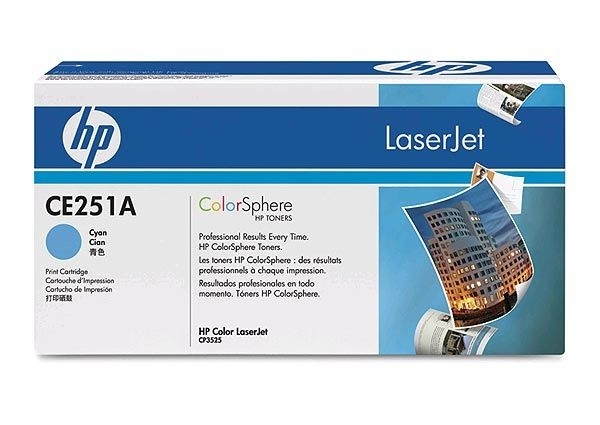 HP Toner cyan, CM3530/CP3525