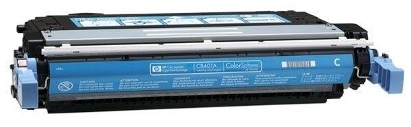 HP Toner cyan für CLJ CP4005N/DN  - CB401A