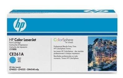HP Toner cyan für CP4525, CE261A